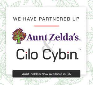 Aunt Zelda's and Cilo Cybin Partnership
